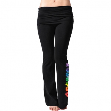 Chakra Tights Leggings Organic Cotton