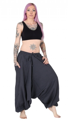 Aladdin Pants Cotton Grey