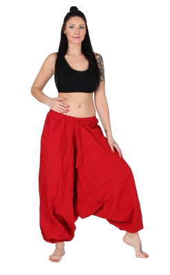 Aladin Pants cotton Red  XL Jumbo