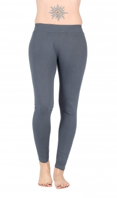 "Yoga Tights ""Devi"" Organic Cotton Grey"
