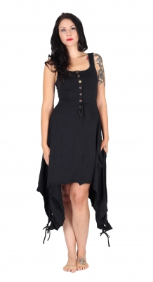 "Organic & Fairtrade Fairy Dress ""Anna"" Black"