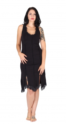 "Faerie Dress ""Manas"" Organic Cotton Black"
