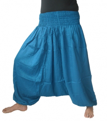 Afghan Harem Pants Blue
