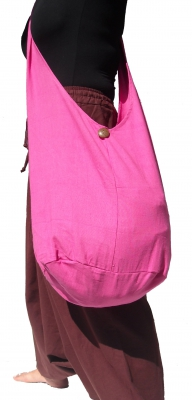 Yam Shoulder Sling Bag Pink