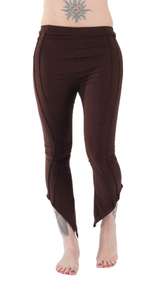 Bootcut Yoga Leggings Brown