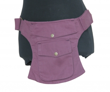 Pocket Hip Pouch Plum