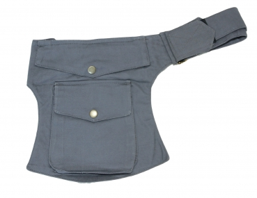 Pocket Hip Pouch Grey