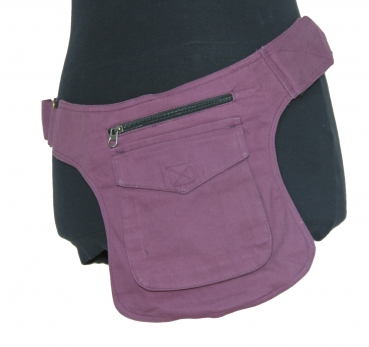 Hippy Pocket Hip Pouch Purple