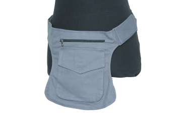 Hippy Pocket Hip Pouch Grey