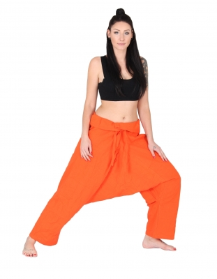Java Wickelhose Thai Yogahose Orange