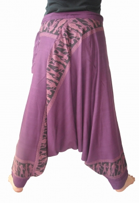Mao Cotton Egypt Desert Pants Side Tie