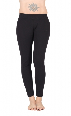 "Yoga Tights ""Devi"" Organic Cotton Black"