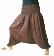 Afgan Harem Pants Choco Brown