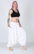 Yoga Aladdin Cotton Pants with Pocket