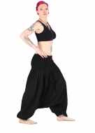 Afhgan Harem Pants Trousers Black