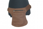 Hippy Pocket Hip Pouch Brown